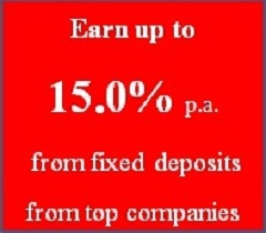 Corporate Fixed deposits