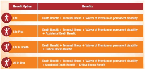 20160311 ICICI Pru IProtect Smart Term Plan Types
