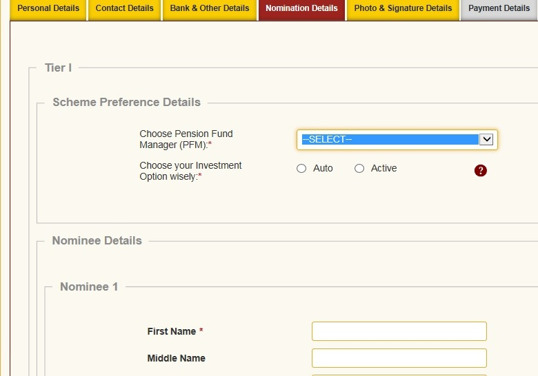 How to open NPS account online with Aadhaar card Actiive Auto
