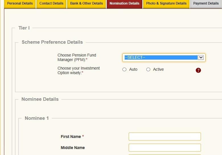 How to open NPS account online with Aadhaar card Actiive Auto