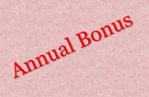 use annual bonus effectively