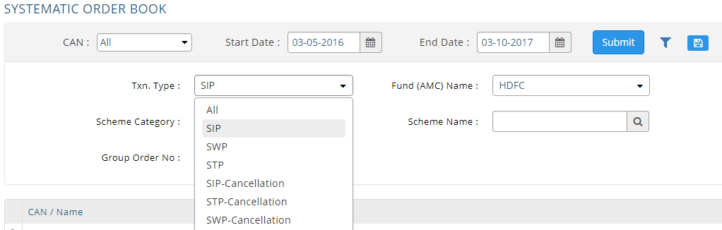 How to stop or cancel SIP in MF Utility MFU 2