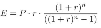 emi mathematical formula