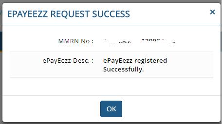MF Utility ePayeezz registration 6