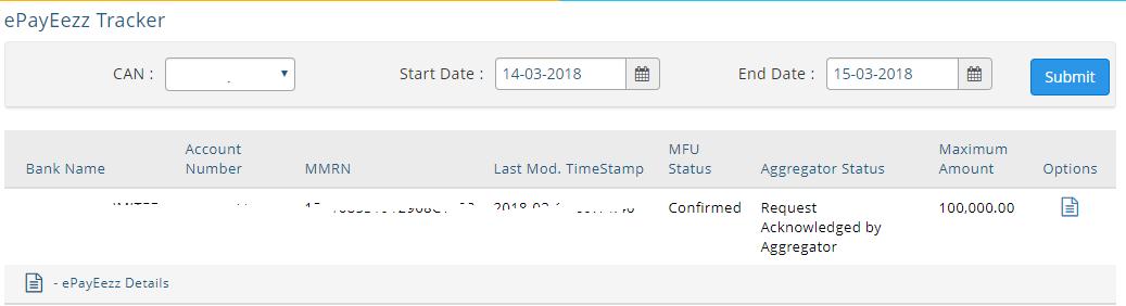MF Utility ePayeezz registration 7
