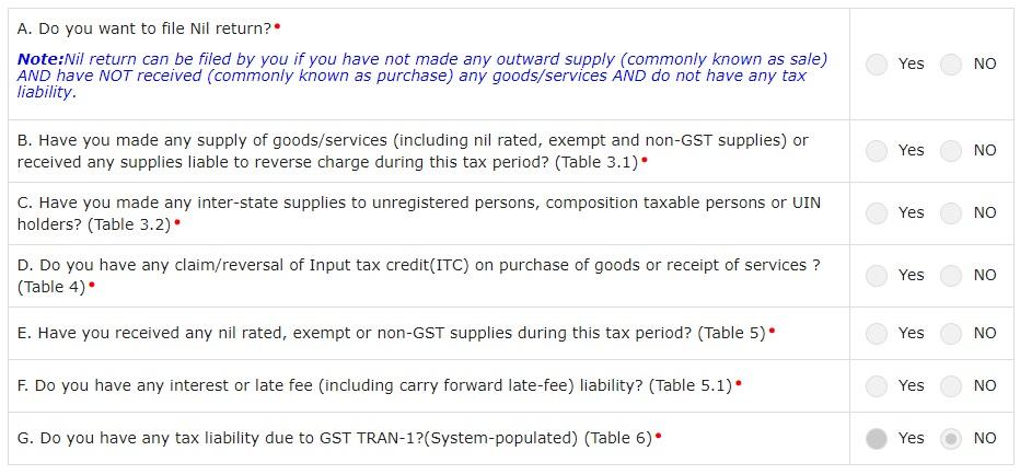 how to file GSTR 3B return online