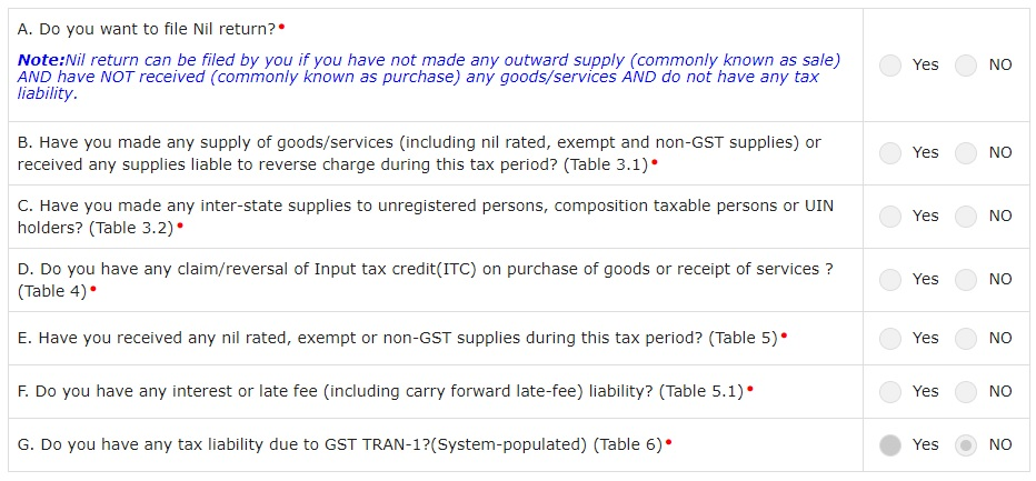 how to file GSTR 3B return online