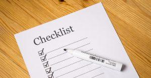 financial checklist personal finance checklist